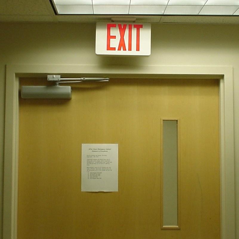 Main Exit